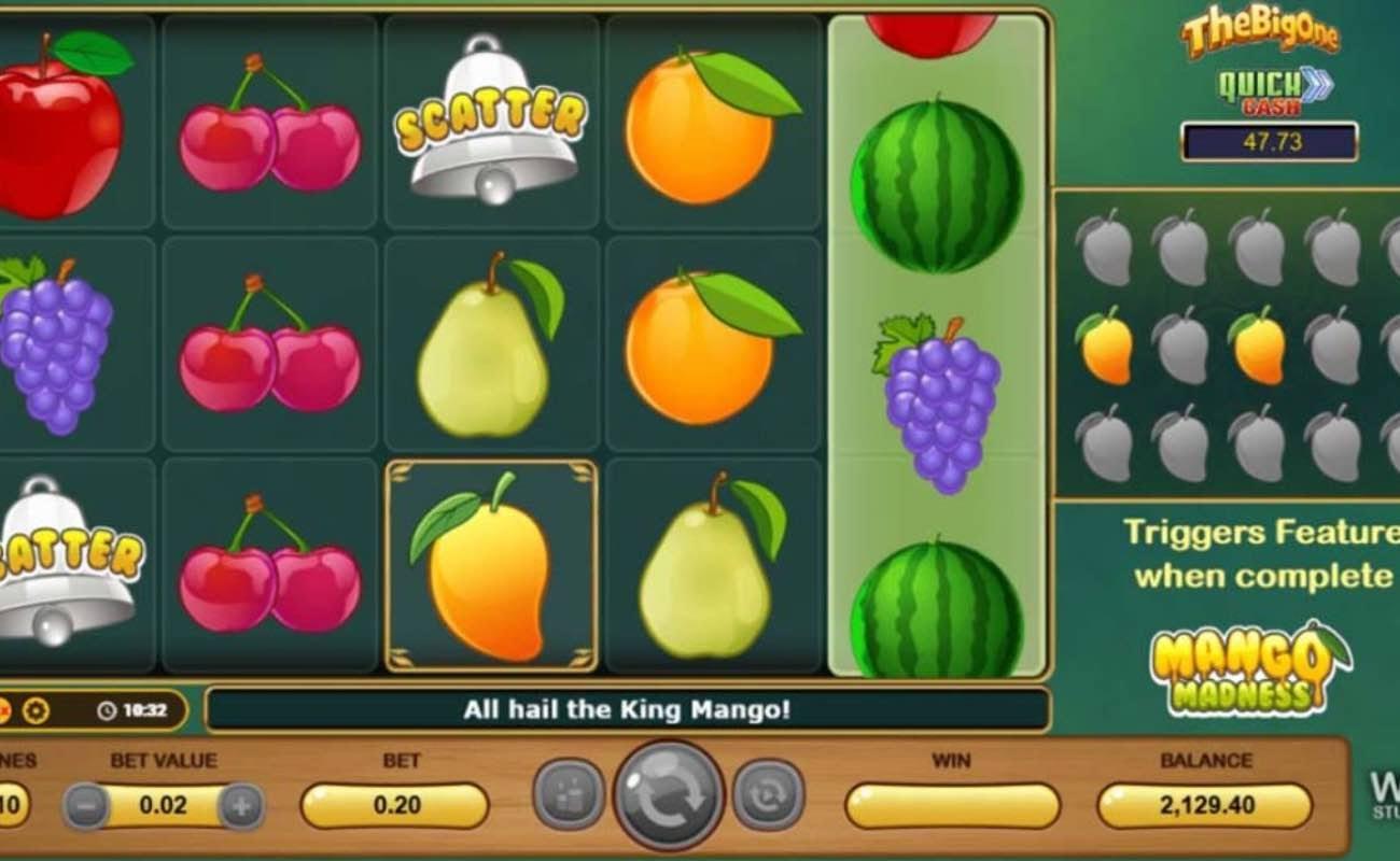 Mango Madness online slot casino game