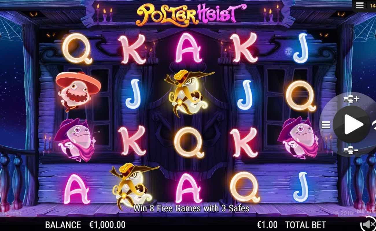 Polterheist by NYX online slot casino game