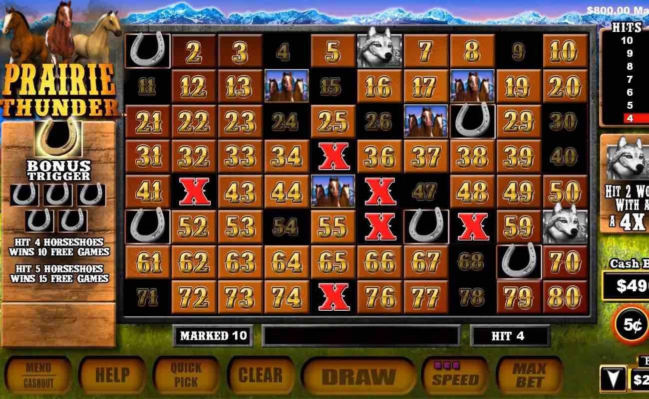 Prairie Thunder by Aristocrat online slot casino game