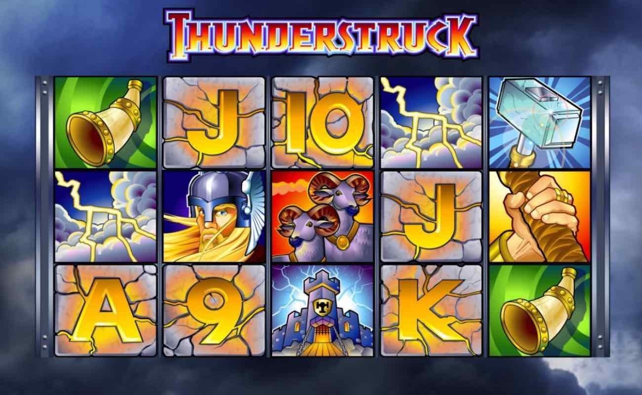 Thunderstruck online slot casino game by DGC
