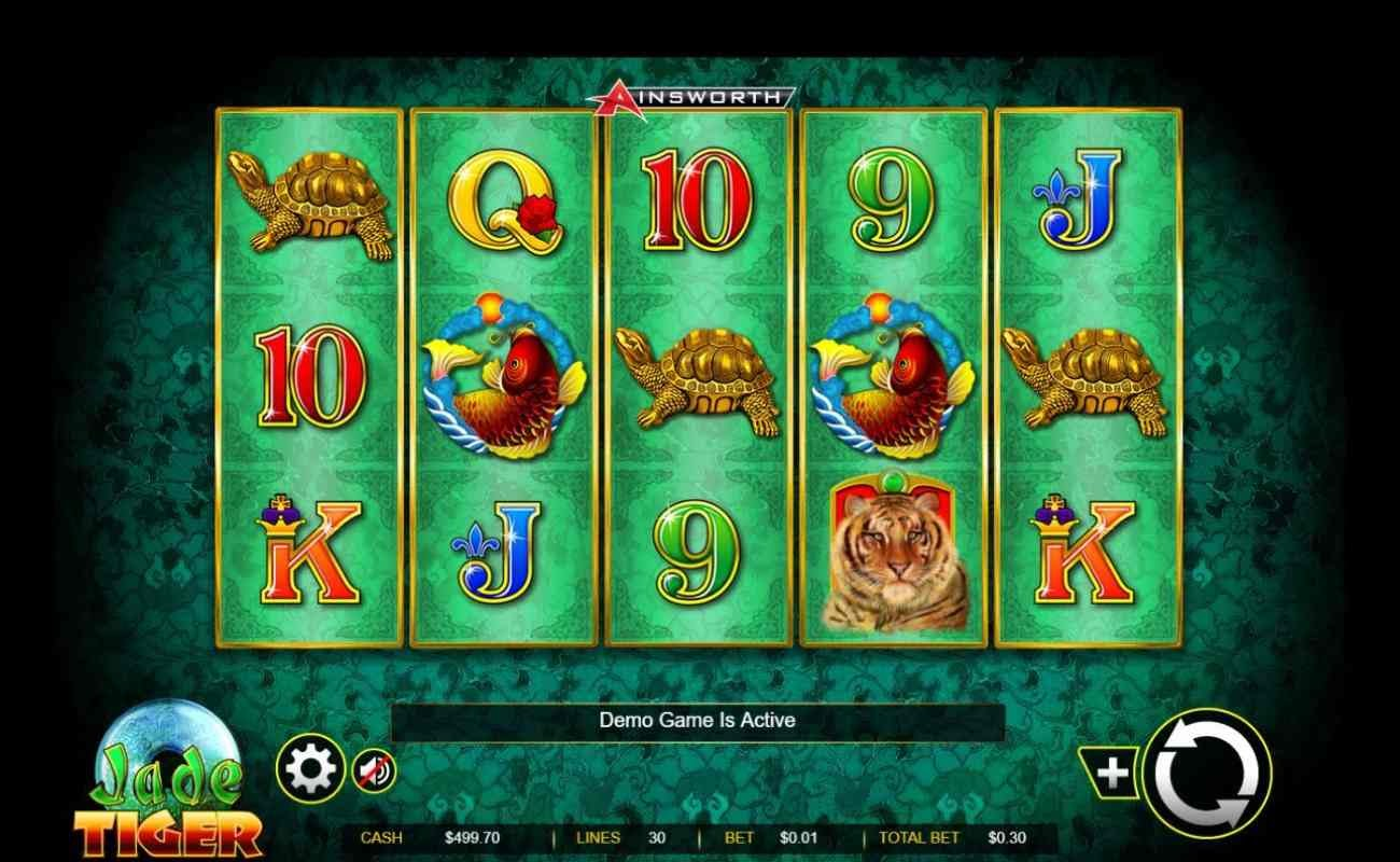 Jade Tiger by Ainsworth online slot casino game