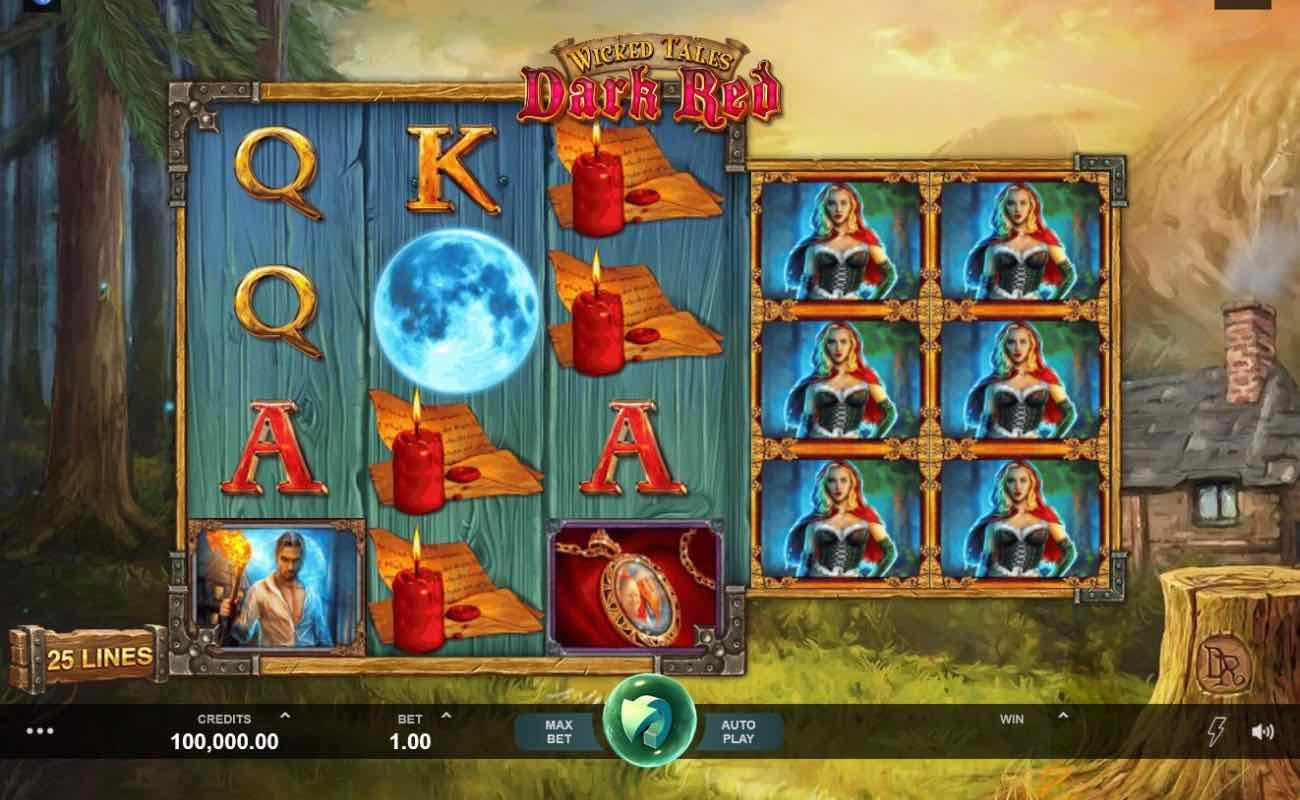 Wicked Tales Dark Red online slot casino game