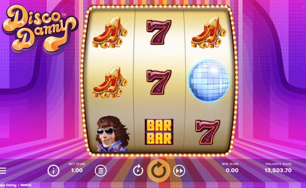 Disco Danny online slot casino game by NetEnt