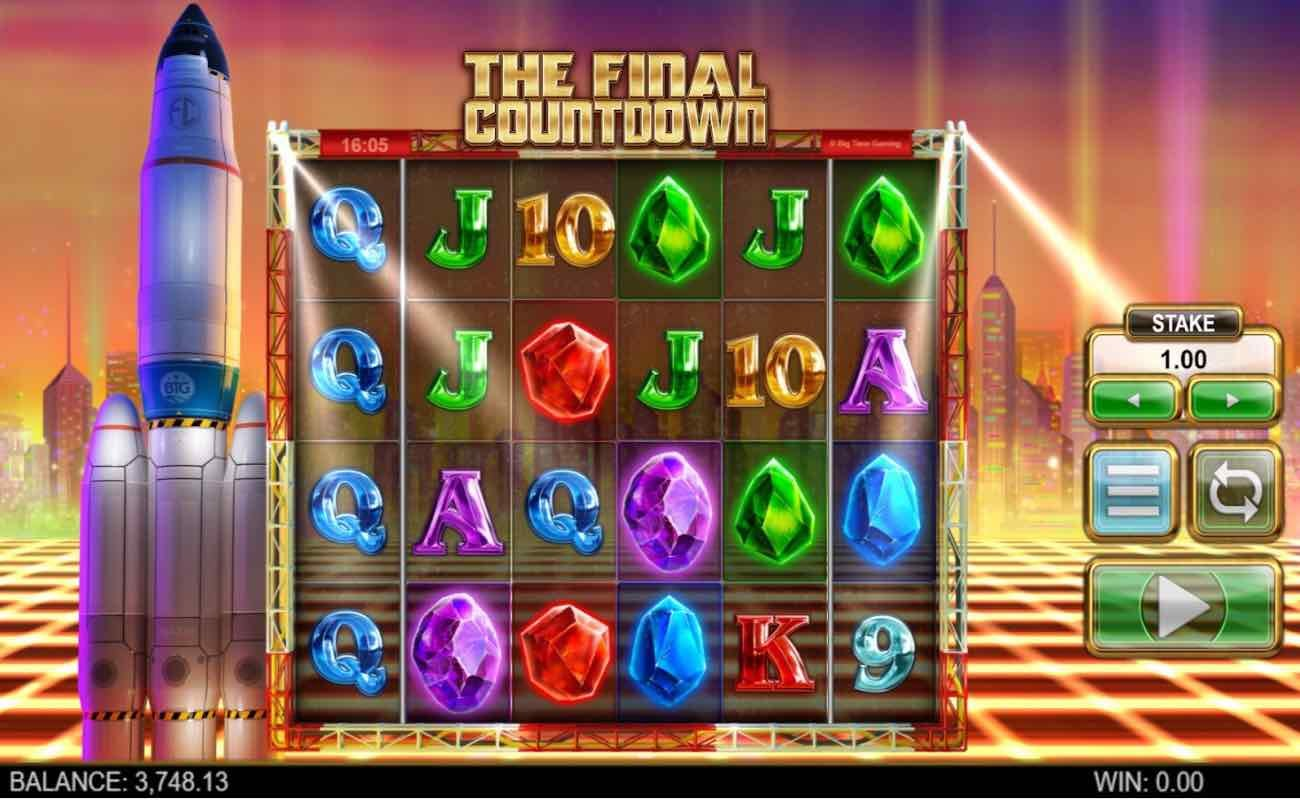The Final Countdown online slot casino game by NYX