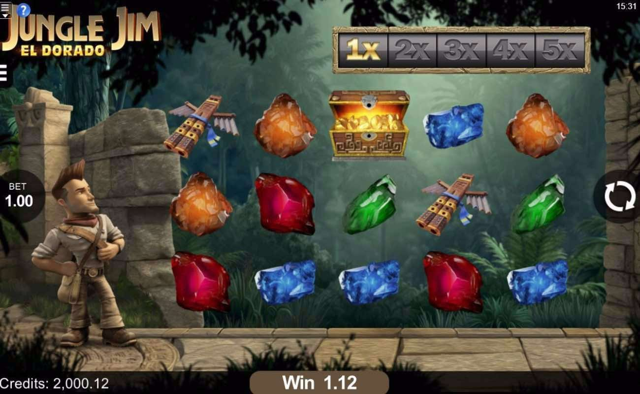 Jungle Jim online slot casino game by DGC