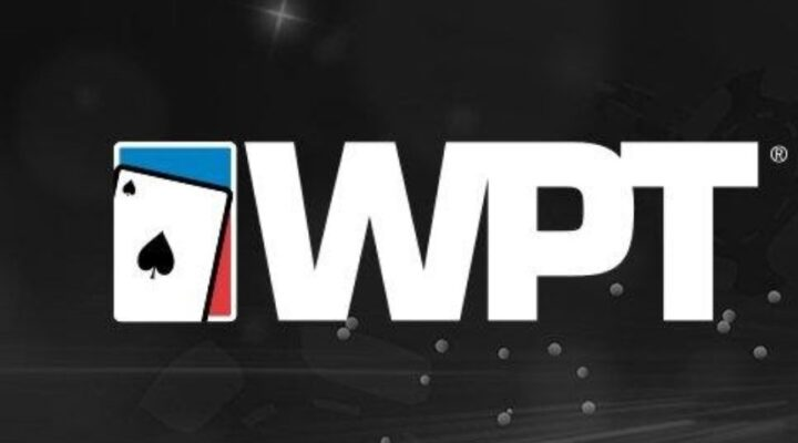 WPT Logo on a black background