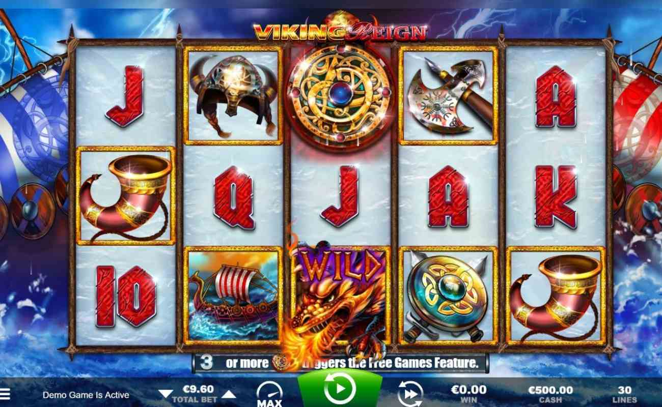 Viking Reign online slot casino game by Ainsworth