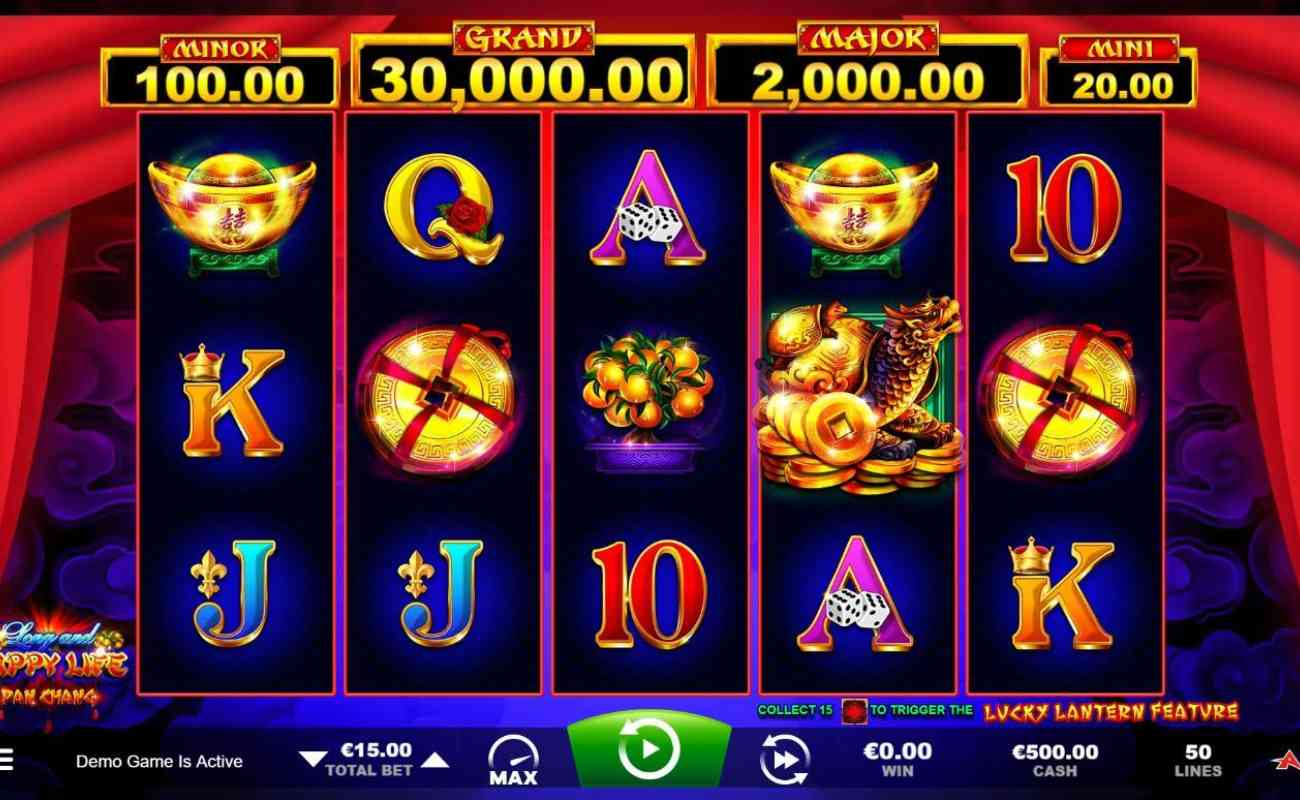 Long and Happy Life online casino slot game by Ainsworth