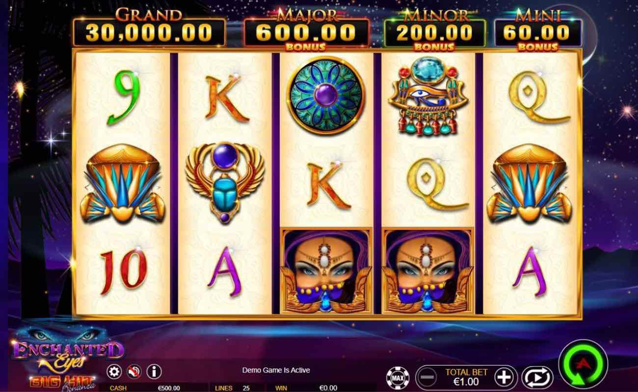 Enchanted Eyes online slots game by Ainsworth