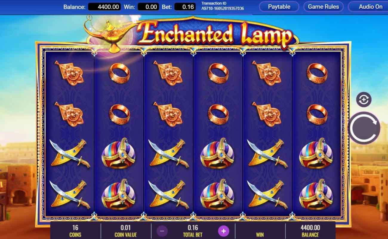 Enchanted Lamo online slots game by IGT
