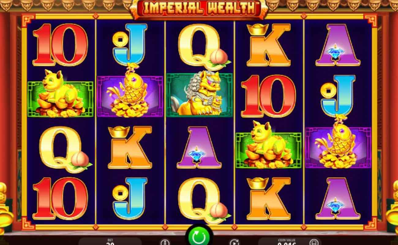Imperial Wealth online slots game by Spin Games