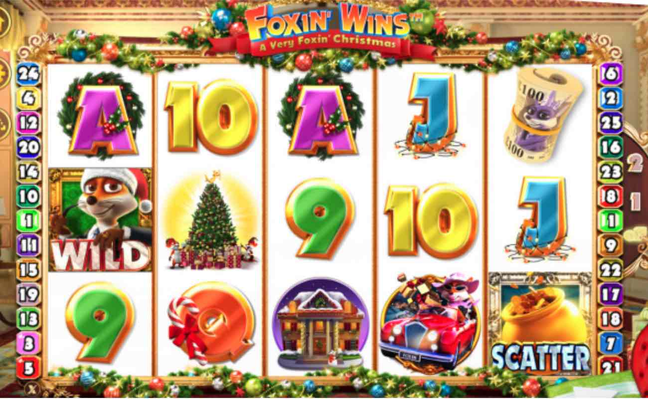 Foxin Wins online slot casino game by NYX