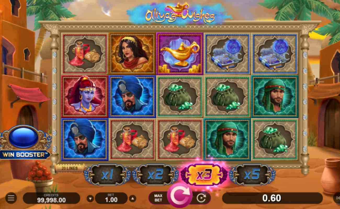 Aliya's Wishes online slot by DGC