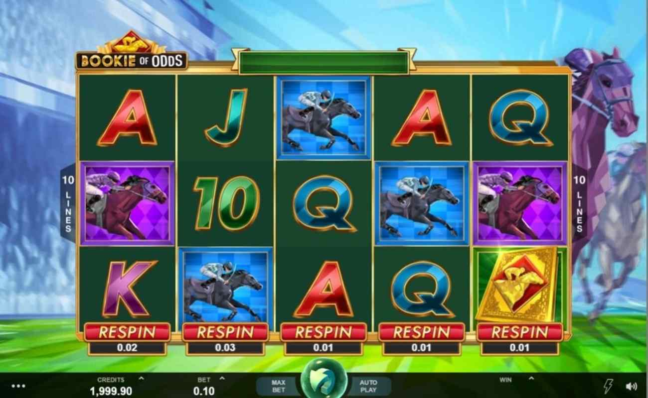 Bookie of Odds online slot by DGC