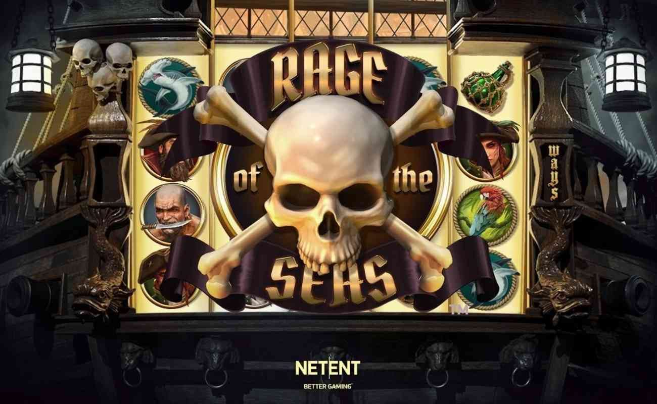 Rage of the Seas online slot by NetEnt