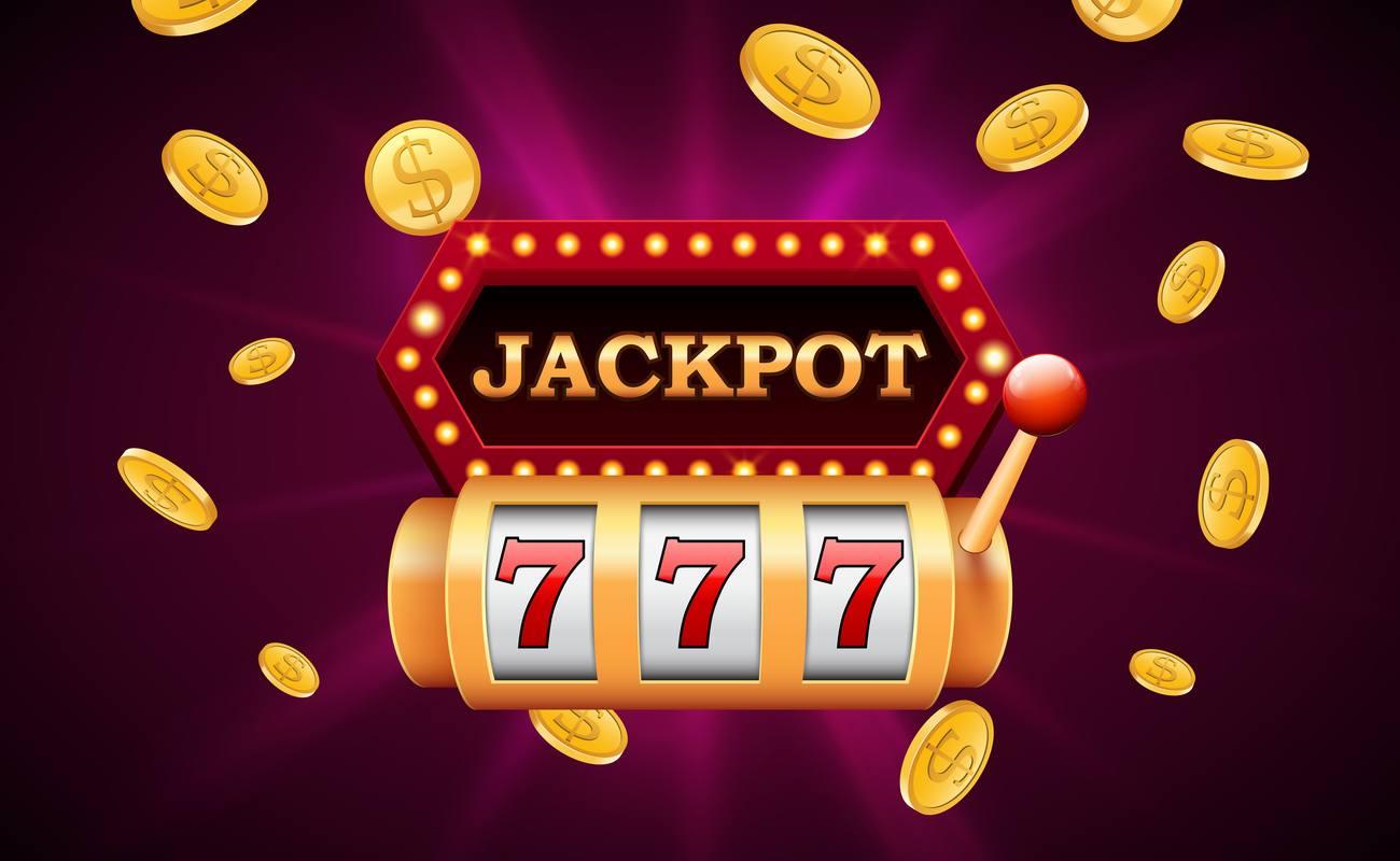 Jackpot triple 7 vector