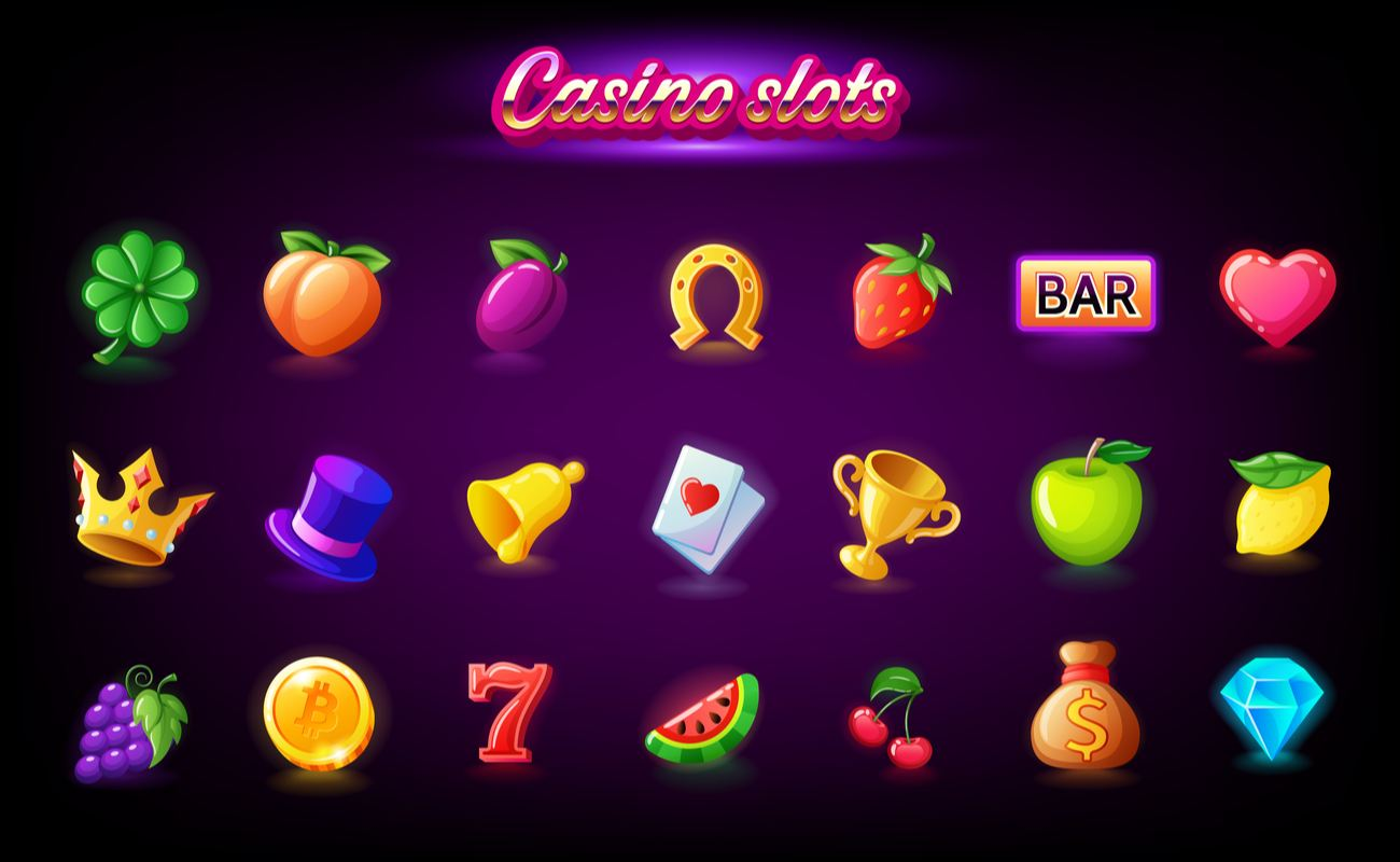 Casino slots vector