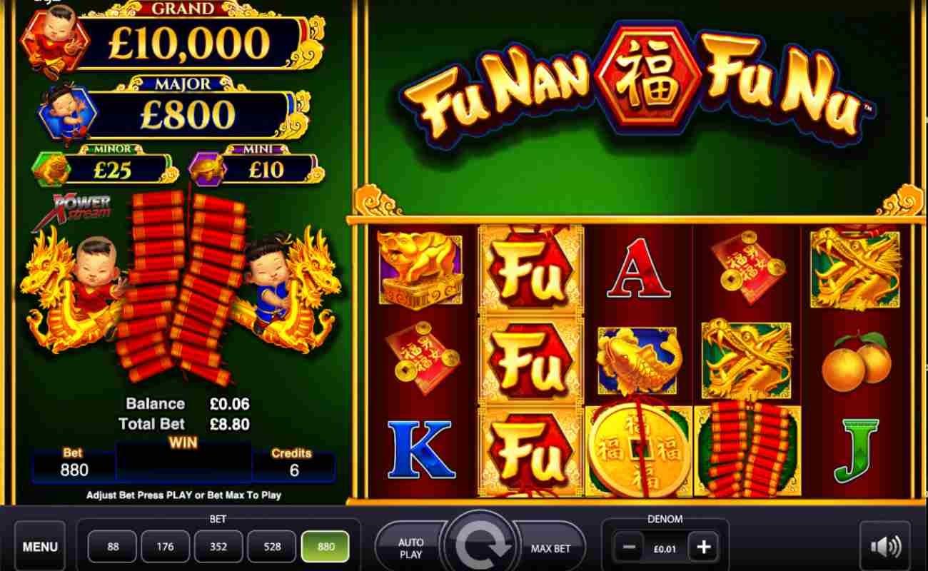 Fu Nan Fu Nu online slot by AGS