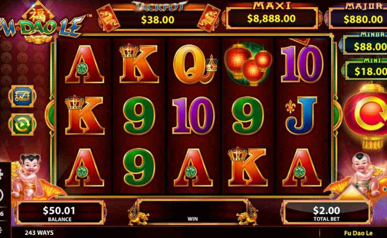 Fu Dao Le online slot by SG Interactive (Bally).