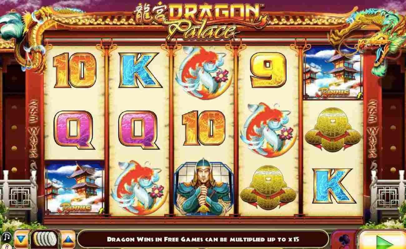 Dragon Palace online slot by Lightning Box Gaming.