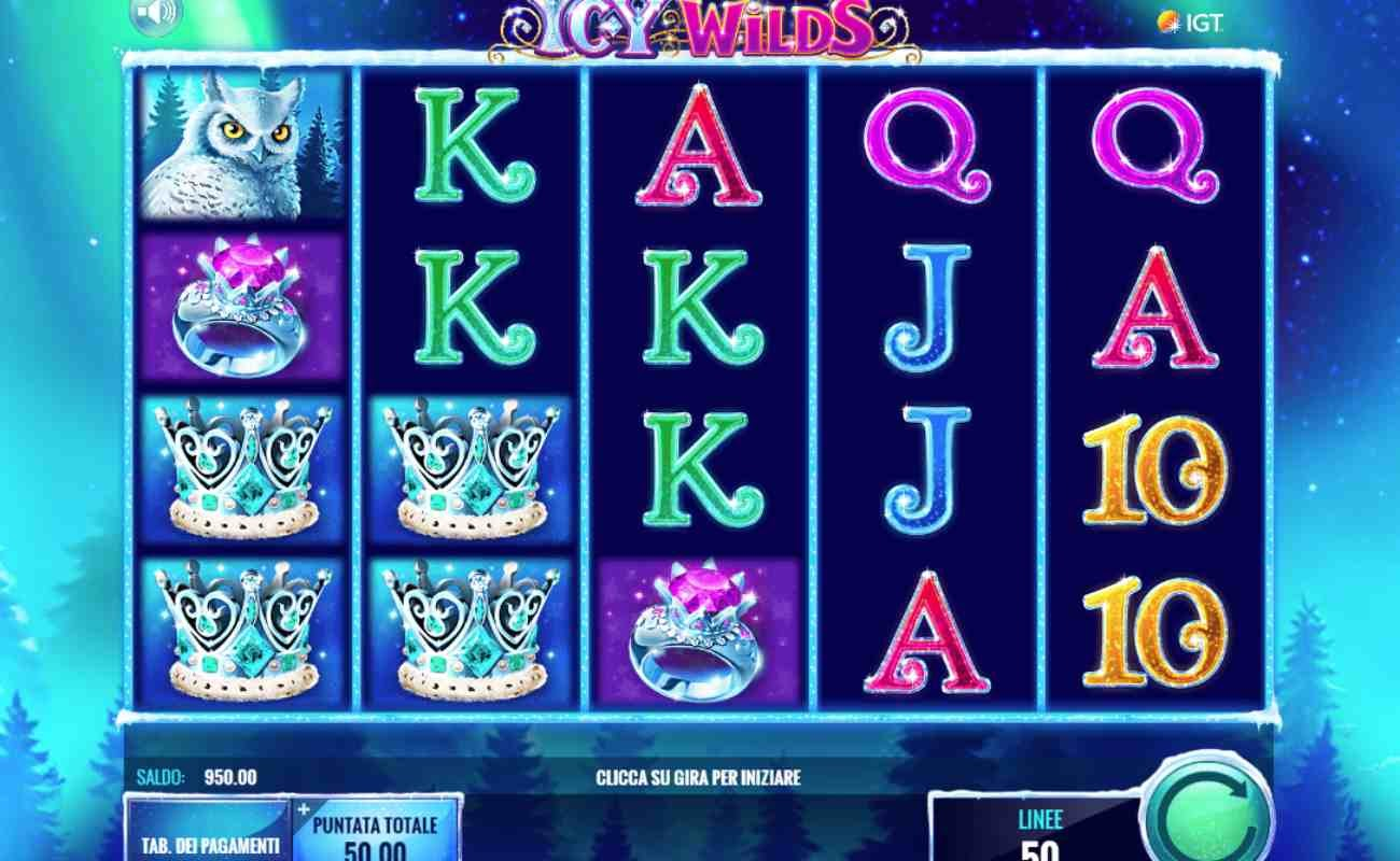 Icy Wilds online slot by IGT.
