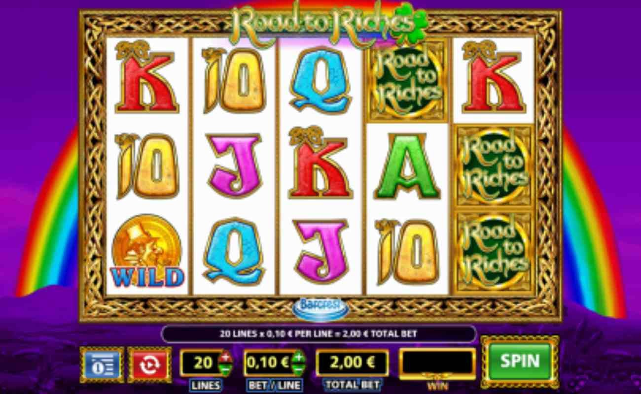 Roads to Riches online slot by NYX (SG Digital).