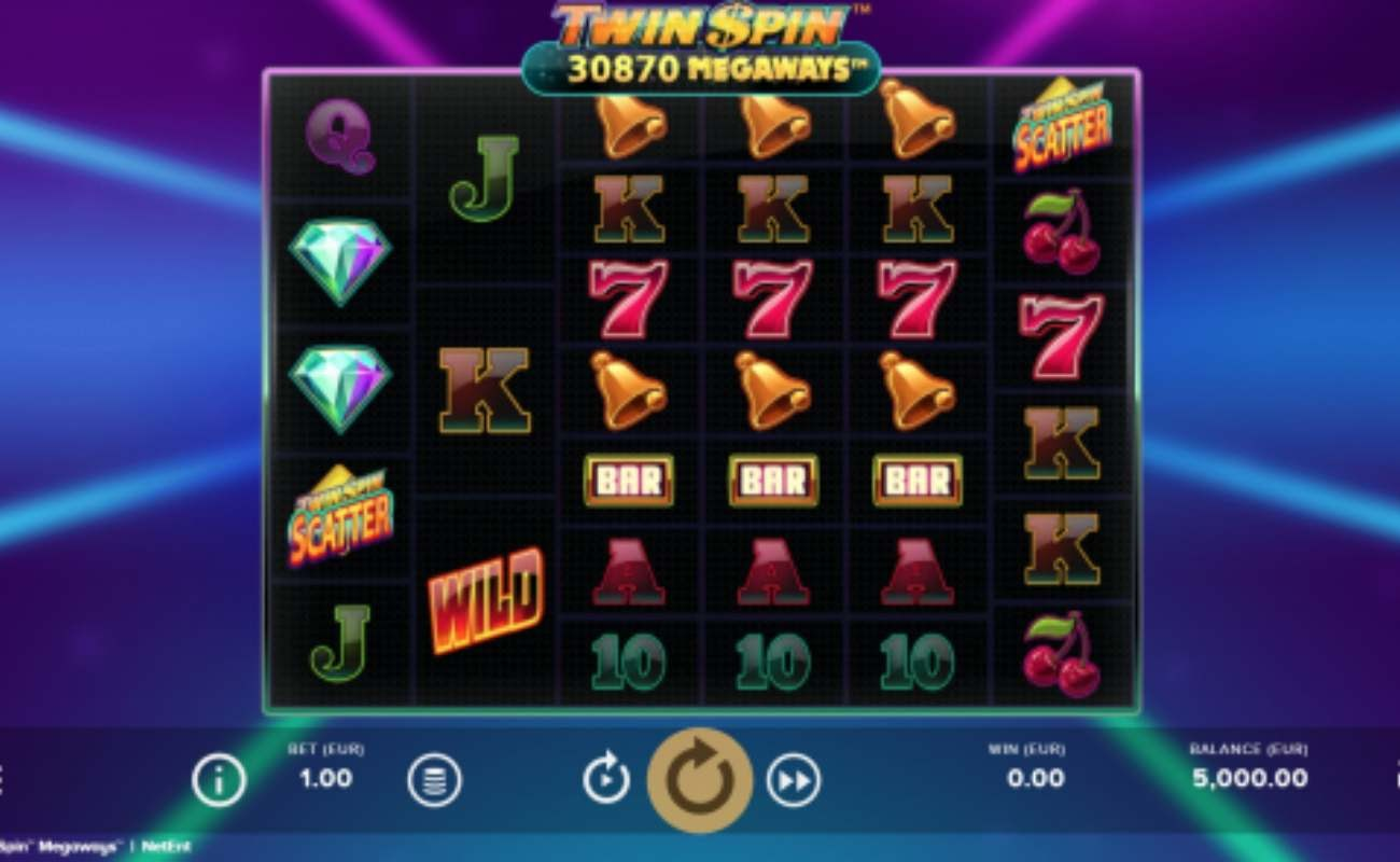 Twin Spin MegaWays online slot by NetEnt.