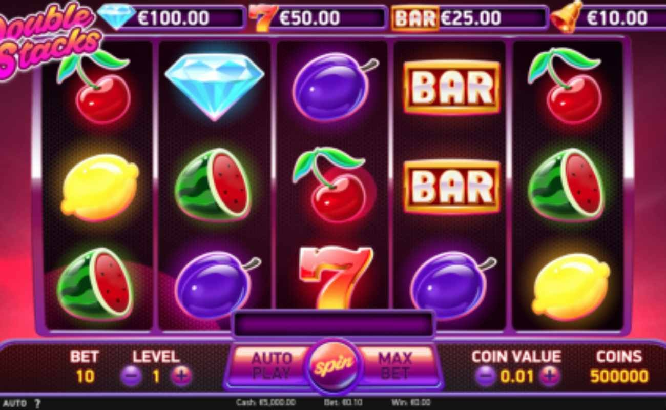 Double Stacks online slot by NetEnt
