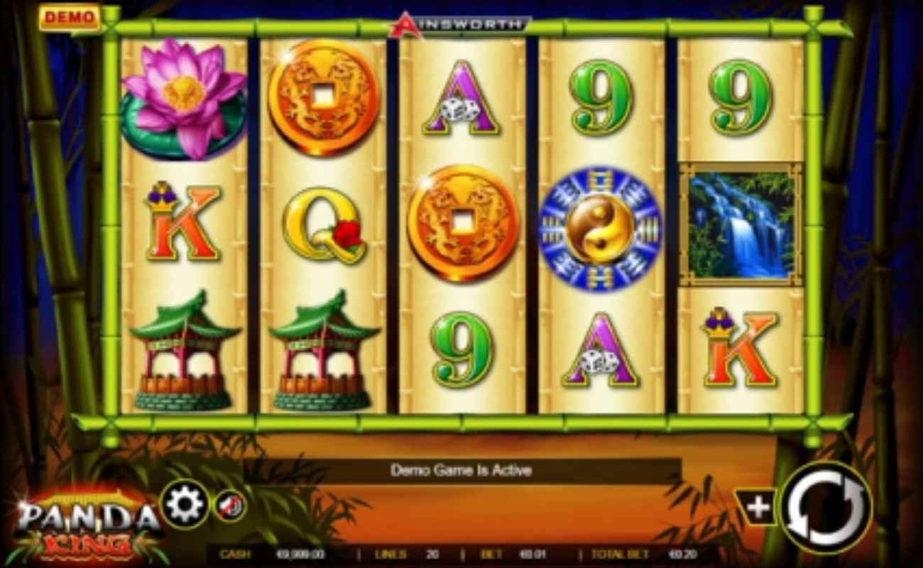 Panda King online slot by Ainsworth.
