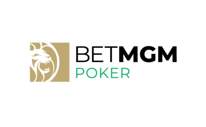 BetMGM Michigan poker logo on a white background