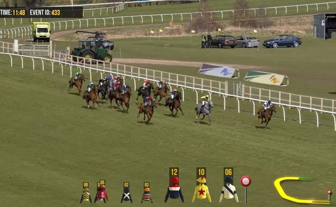 Screenshot of Horses 2 Flats by Virtual Inspired.
