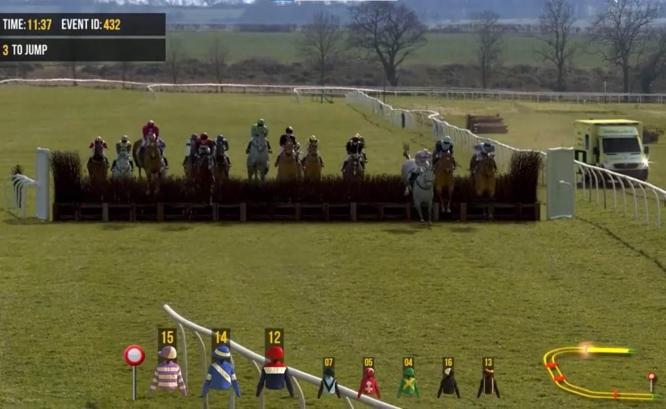 Screenshot of Horses 2 Jumps by Virtual Inspired.