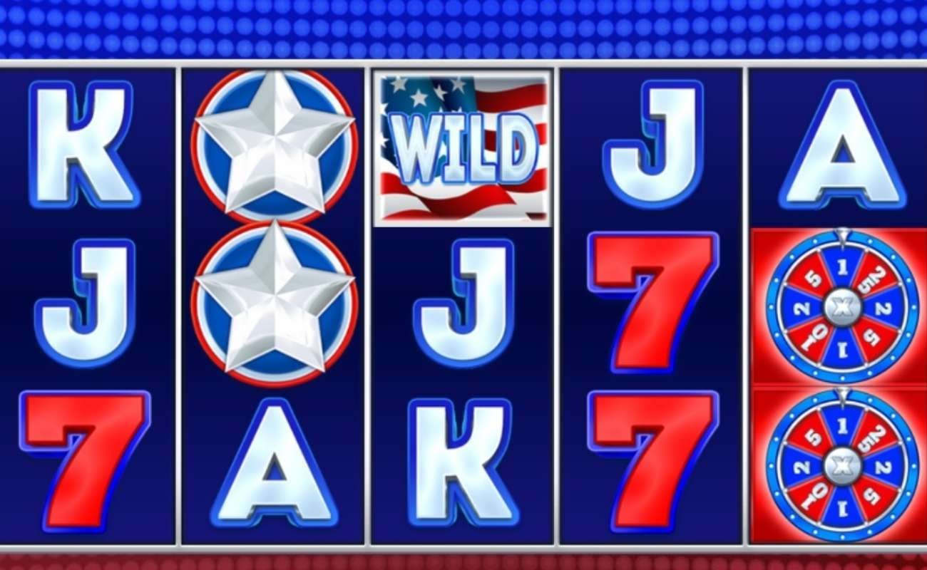 Screenshot of Liberty Cash Spins, an online slot by Inspired Gaming.