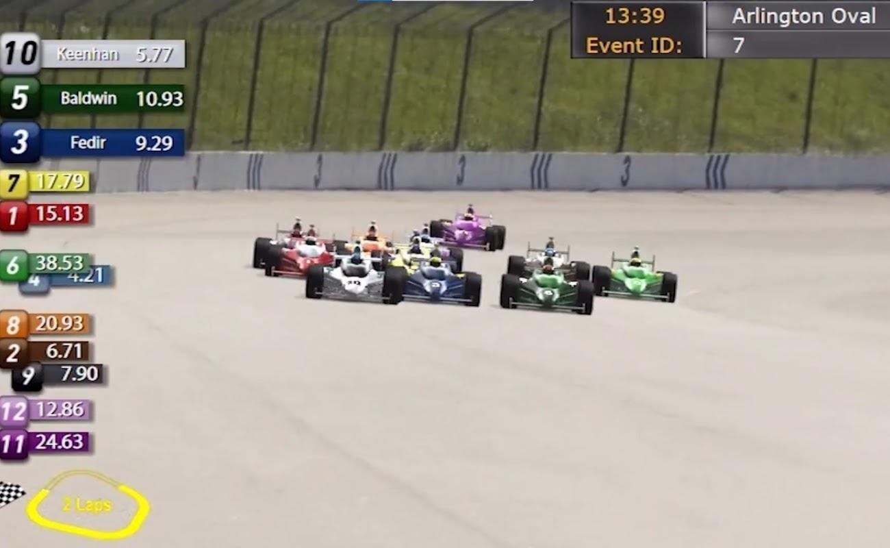 Screenshot of Motor Racing by Virtual Inspired.