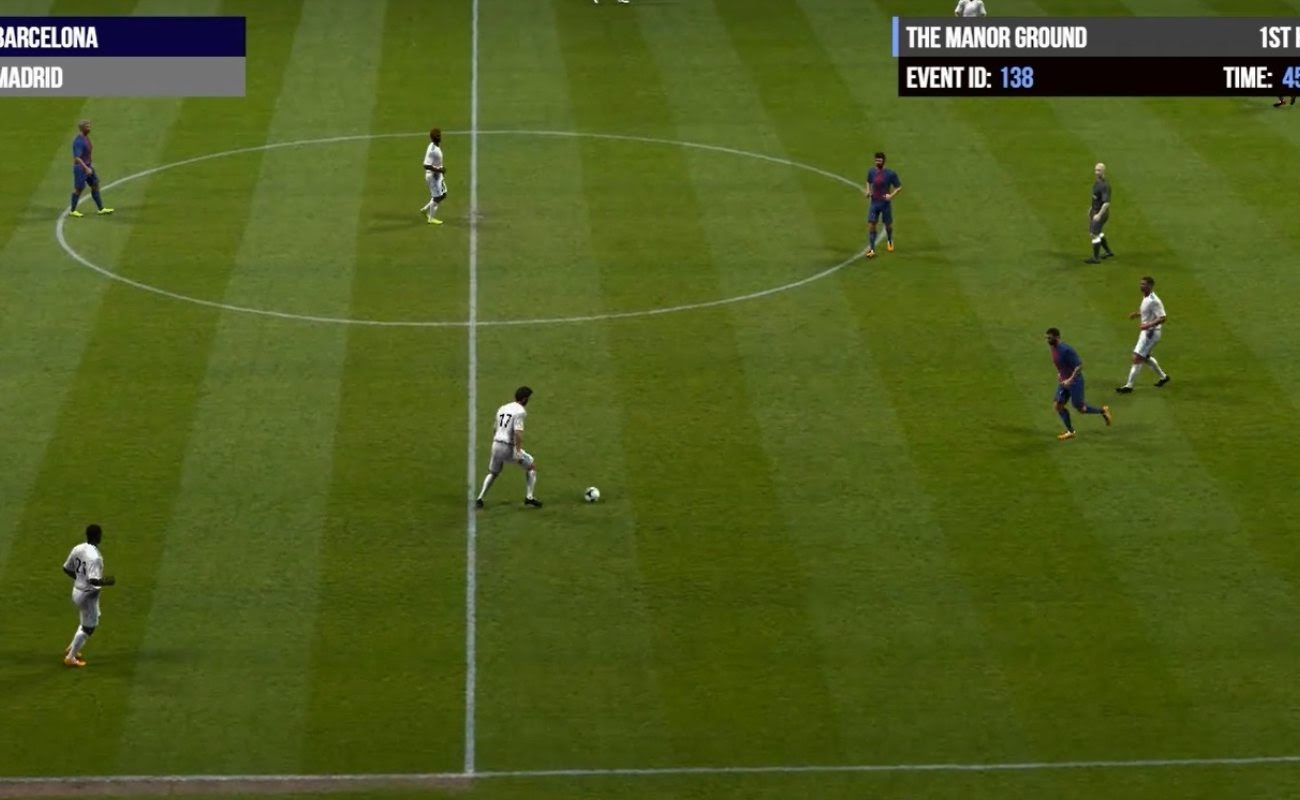 Screenshot of Soccer 2 by Virtual Inspired.
