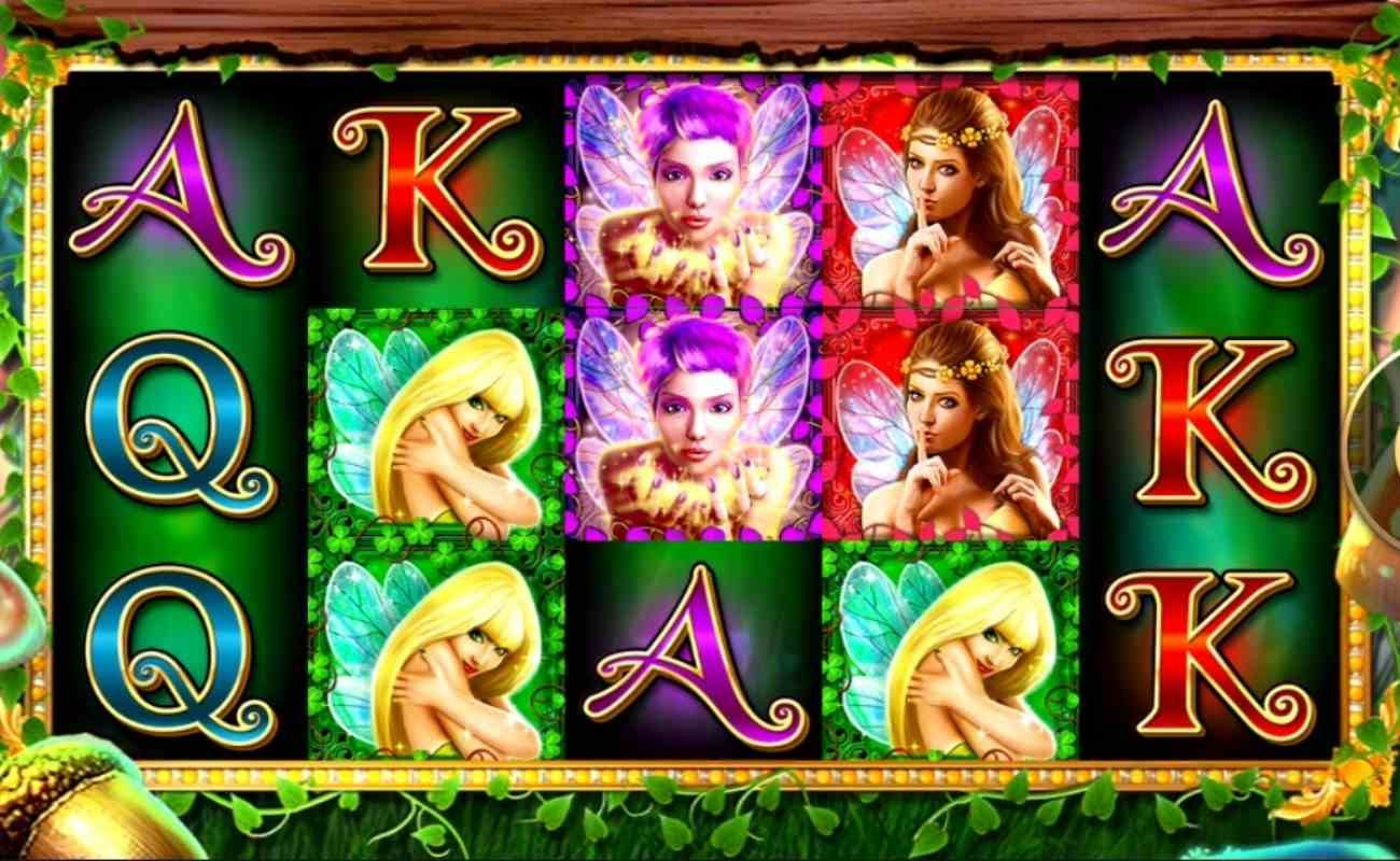 Screenshot of the reels in Secrets of the Forest 2: Pixie Paradise online slot