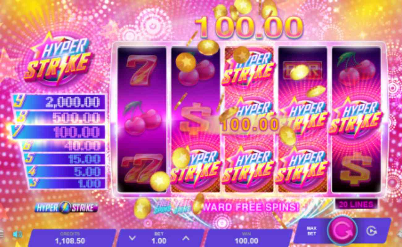 Hyper Strike online slot by Microgaming