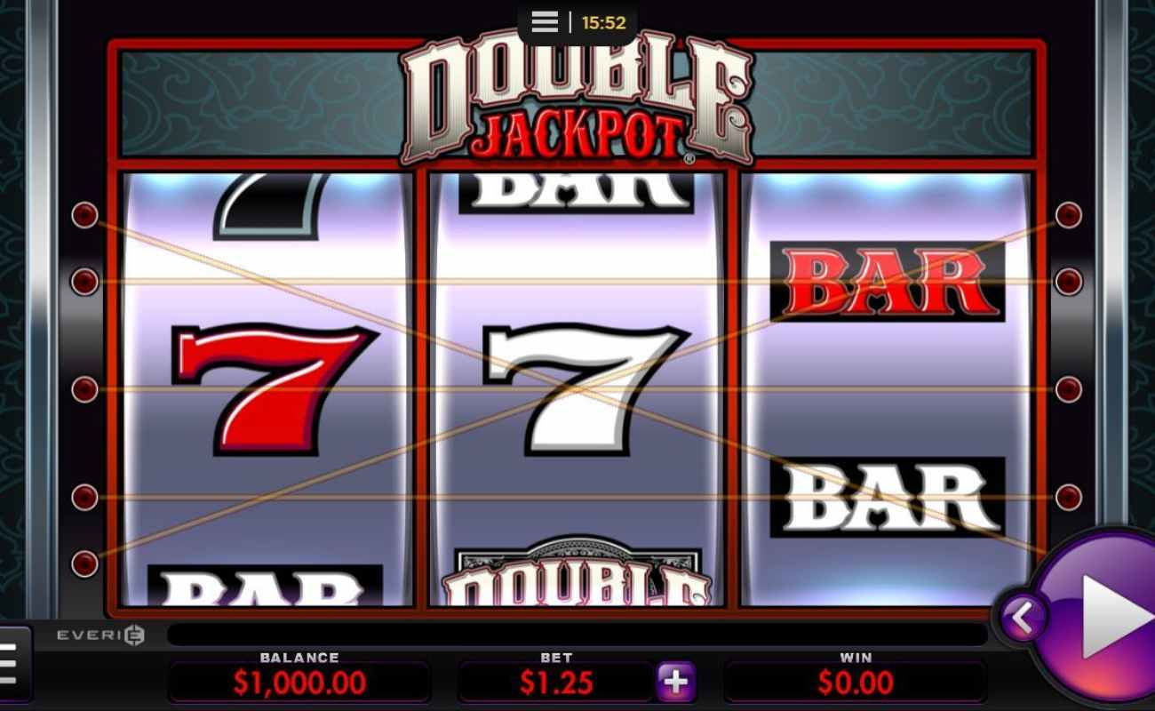 Double Jackpot online slot by Everi