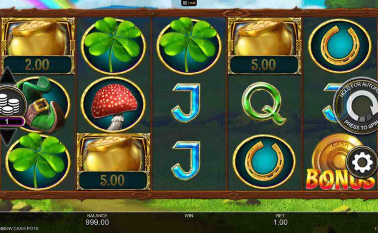 Rainbow Cash Pots online slot by Inspired Gaming (NYX)