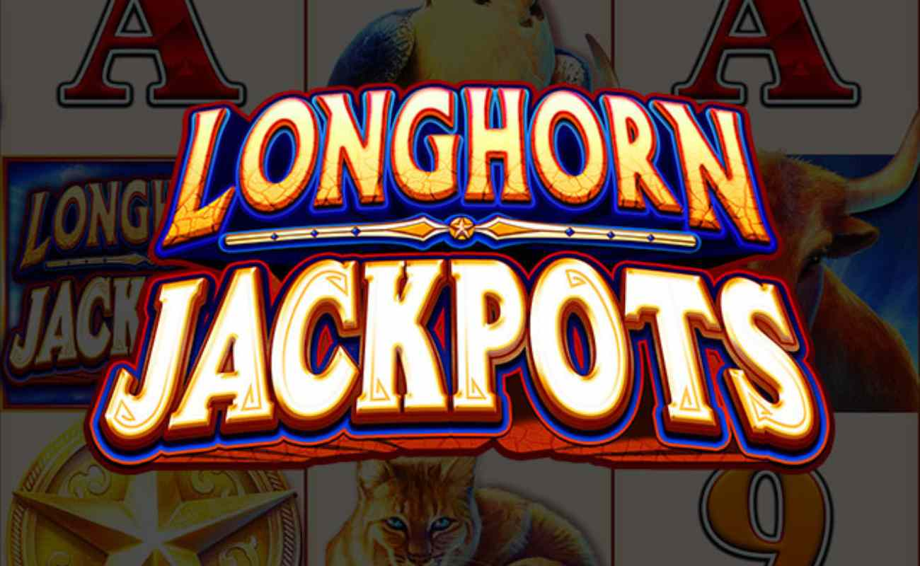 Longhorn Jackpots online slot by AGS