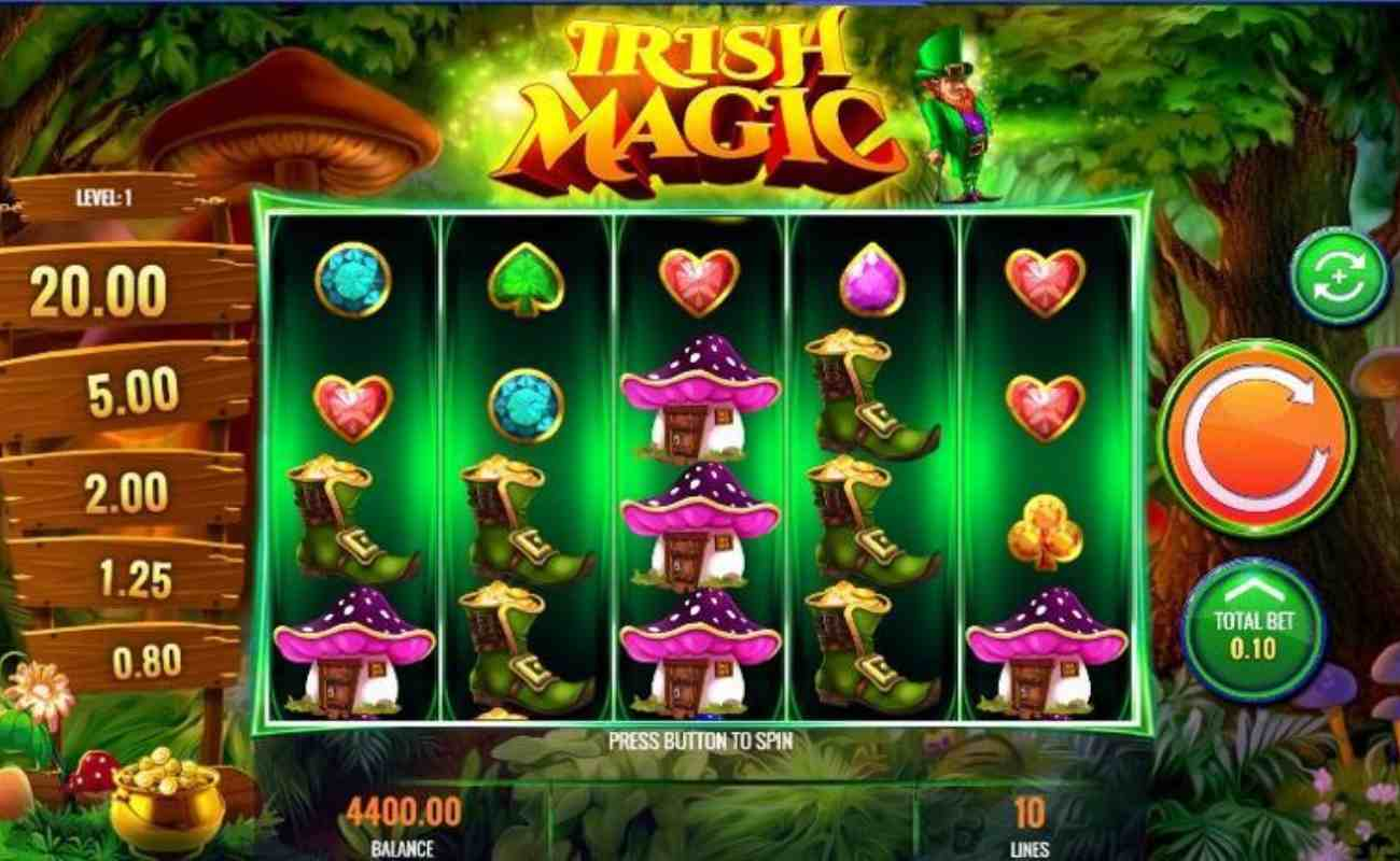 Irish Magic online slot by IGT