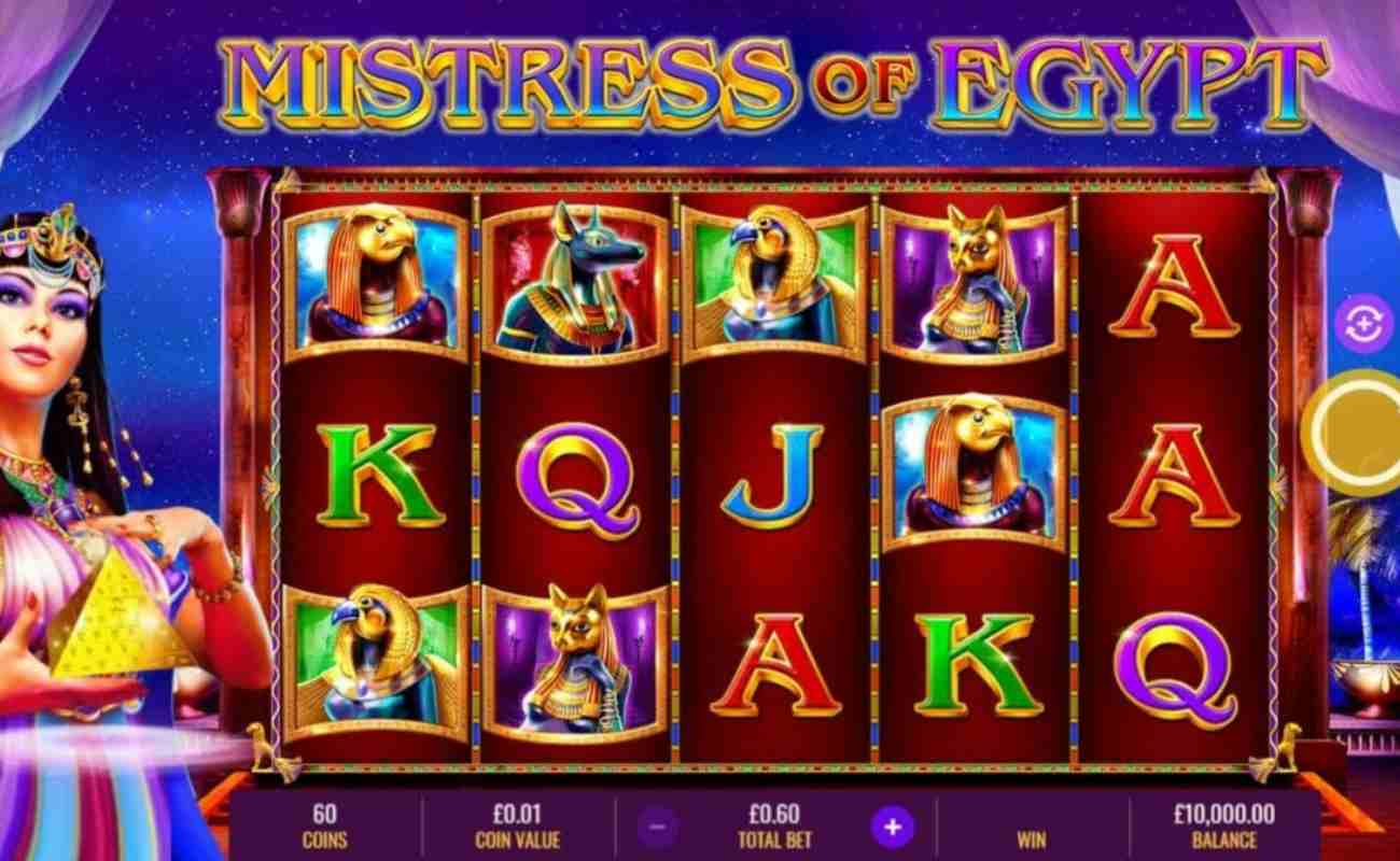 Mistress of Egypt online slot by IGT