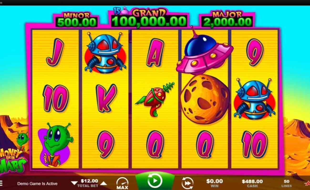 Money From Mars online slot by Ainsworth