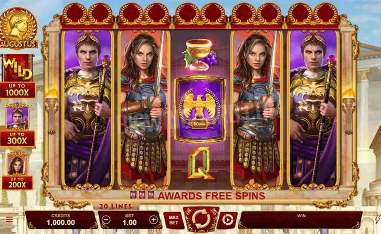 Augustus online slot by DGC