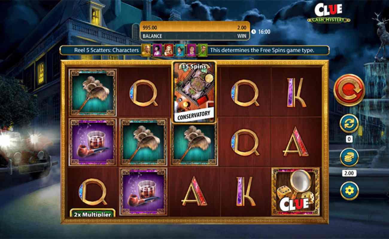Clue Cash Mystery online slot by SG Digital