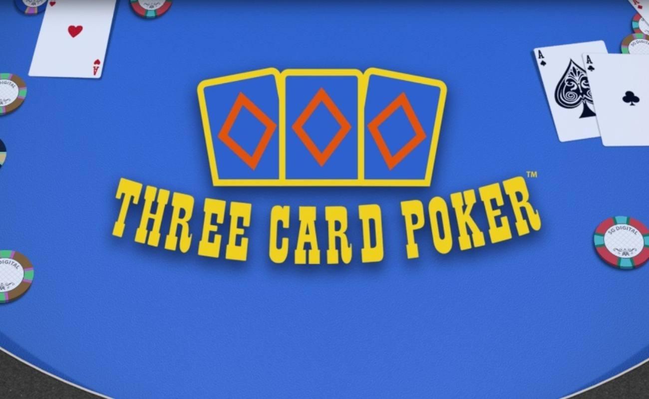Three Card Poker online slot by SG Digital (NYX)