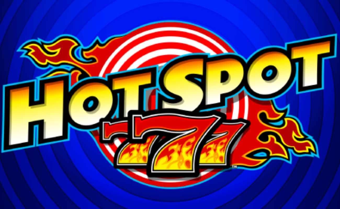Hot Spot 777 online slot logo by Everi