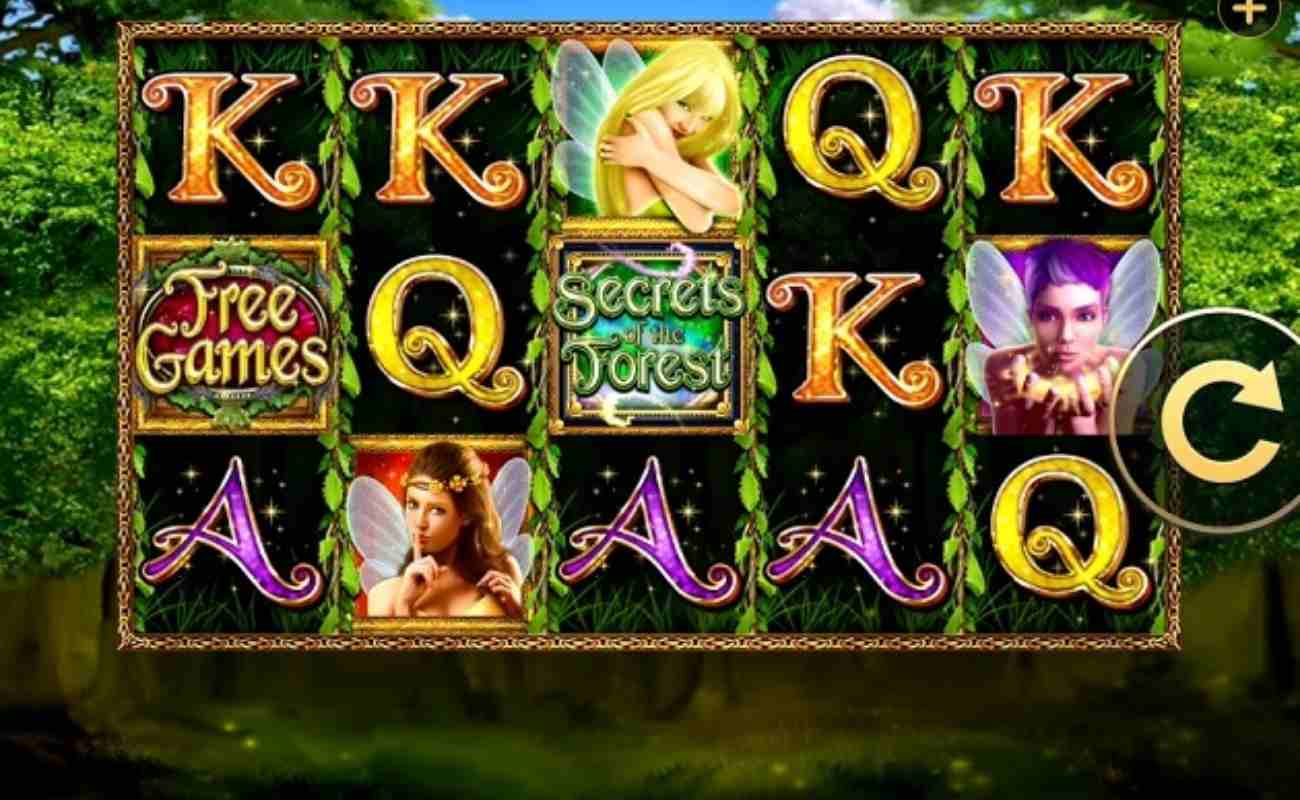 Secrets of the Forest online slot by High 5