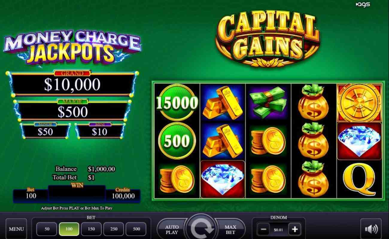 Capital Gains online slot by AGS