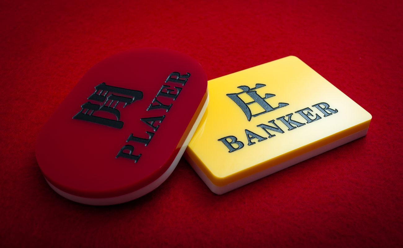 Live Baccarat online casino game by Evolution